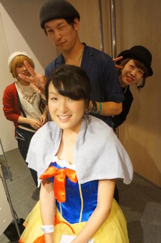 【イベント】TGC Night Halloween party☆ハロウィンイベントで無料ヘアアレンジやステージ上でモデルさんのヘアアレンジをしました♪_c0080367_19414220.jpg