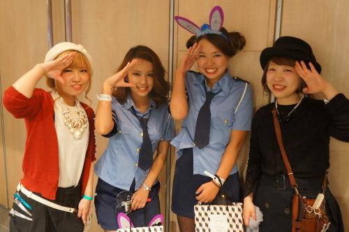 【イベント】TGC Night Halloween party☆ハロウィンイベントで無料ヘアアレンジやステージ上でモデルさんのヘアアレンジをしました♪_c0080367_19420704.jpg