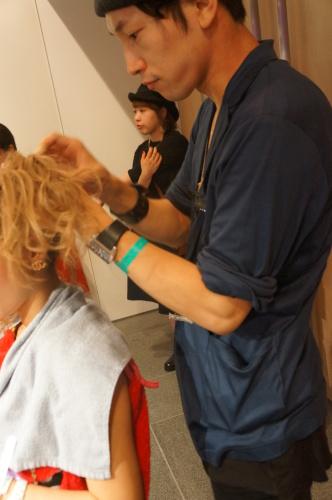 【イベント】TGC Night Halloween party☆ハロウィンイベントで無料ヘアアレンジやステージ上でモデルさんのヘアアレンジをしました♪_c0080367_19422324.jpg