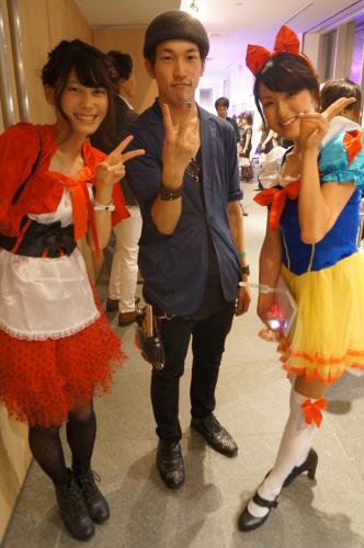【イベント】TGC Night Halloween party☆ハロウィンイベントで無料ヘアアレンジやステージ上でモデルさんのヘアアレンジをしました♪_c0080367_19455481.jpg