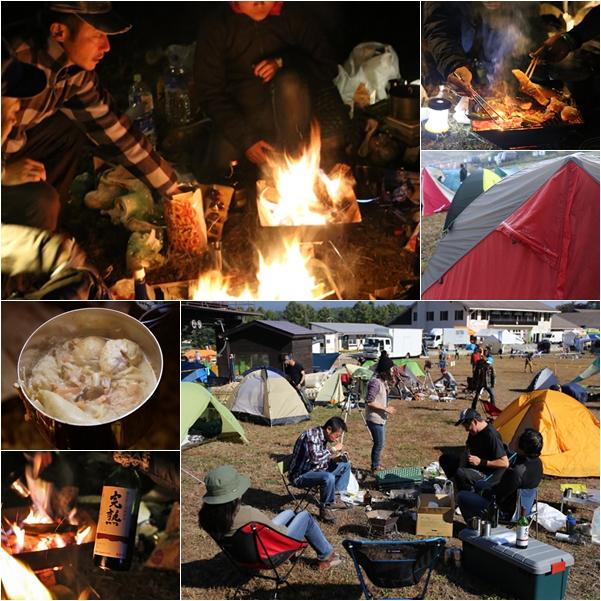 秋の長野へ・・・ 佐久でキャンプと カヤの平 と 小布施で栗♪ _f0179404_21382356.jpg