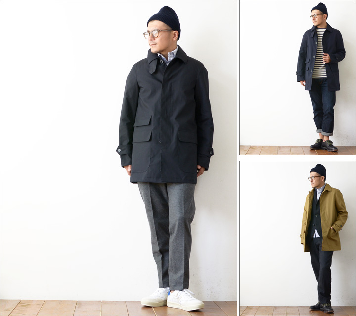 TRADITIONAL WEATHER WEAR [トラディショナルウェザーウェアー] CORBY [142AD-7814D] MEN\'S_f0051306_17343140.jpg