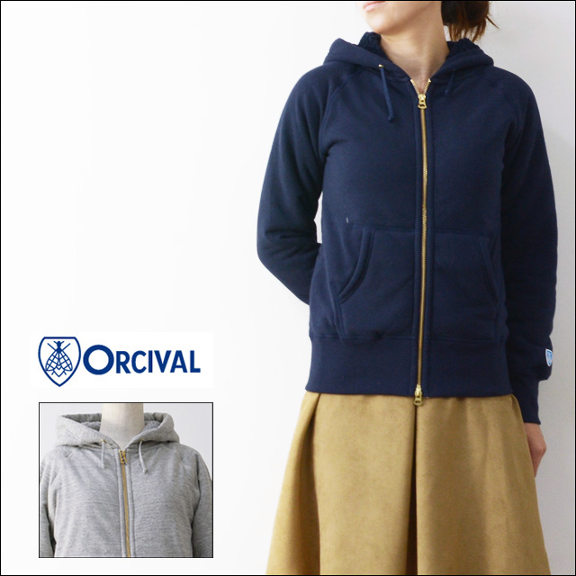 ORCIVAL[オーチバル・オーシバル] BOA SWEAT PARKA [RC-6937] LADY\'S_f0051306_1803036.jpg