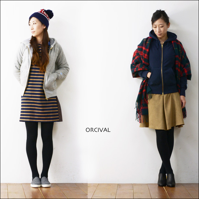 ORCIVAL[オーチバル・オーシバル] BOA SWEAT PARKA [RC-6937] LADY\'S_f0051306_1803310.jpg