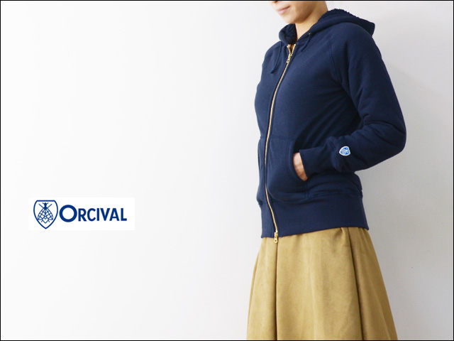 ORCIVAL[オーチバル・オーシバル] BOA SWEAT PARKA [RC-6937] LADY\'S_f0051306_18132458.jpg