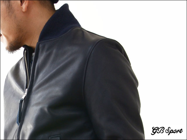 GB SPORTS [ジービースポーツ] SHOWLE COLLAR BASEBALL LEATHER JACKET [301.TB] MEN\'S_f0051306_19234098.jpg