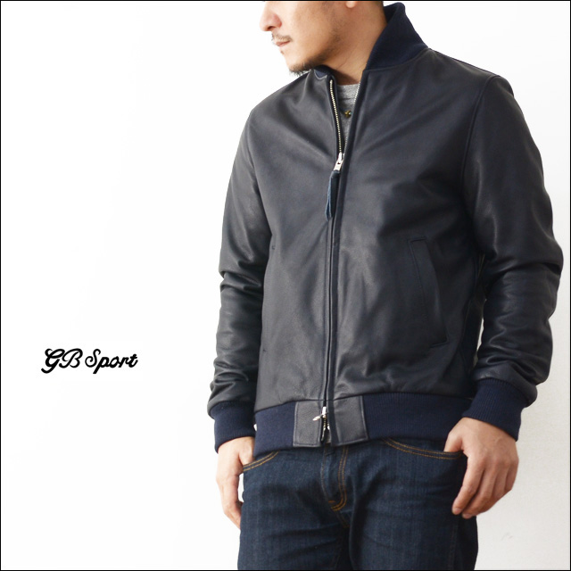 GB SPORTS [ジービースポーツ] SHOWLE COLLAR BASEBALL LEATHER JACKET [301.TB] MEN\'S_f0051306_192342100.jpg
