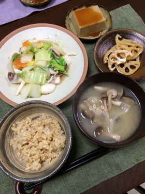 イカと白菜の炒め物_d0235108_21461.jpg