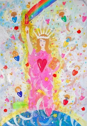 14/12/23(火)-12/28(日) エレマリア個展 「自由の女神と天使たち」_e0091712_22615.jpg