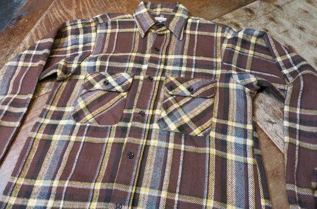 11/1(土)入荷商品!BIGMIKE ネルシャツ!サイズS_c0144020_15572943.jpg