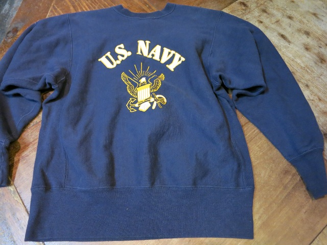 11/1(土)入荷商品!80'S U.S NAVY リバースウィーブ!_c0144020_16213288.jpg