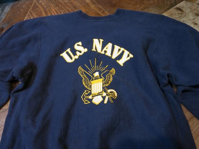 11/1(土)入荷商品!80'S U.S NAVY リバースウィーブ!_c0144020_1621341.jpg