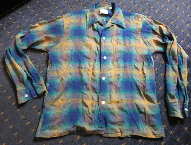 11/1(土)入荷商品!60'S TOWN CRAFTオンブレーシャツ!_c0144020_1681552.jpg