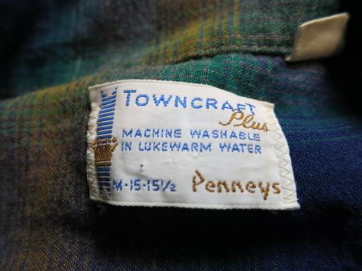 11/1(土)入荷商品!60'S TOWN CRAFTオンブレーシャツ!_c0144020_168225.jpg