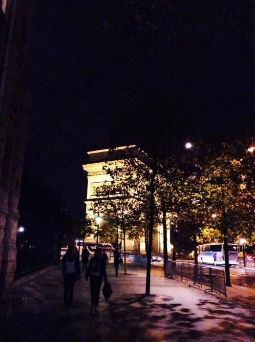 2014 10月 パリ出張 (3) パリにも戻って散歩_f0062122_12500381.jpg