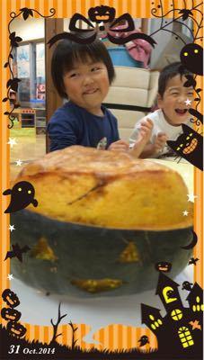 カボチャまるごとケーキ!_b0117125_1523176.jpg