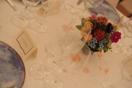 秋の装花 リストランテASO様へ 草花とインスタグラム_a0042928_2234443.jpg