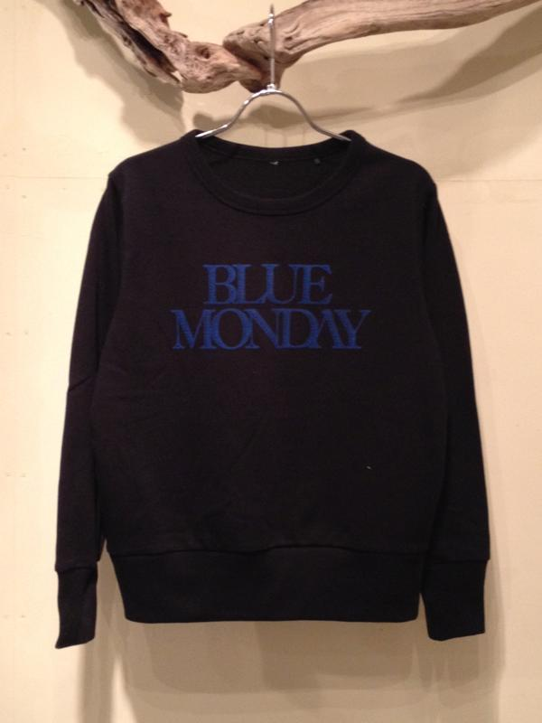 "CREW NECK SWEAT ""BLUE MONDAY\""_f0126931_1404875.jpg"