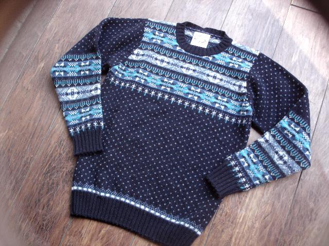 NEW : Jamieson\'s [Crew Neck Pullover] & [V Neck Vest] !!_a0132147_012541.jpg