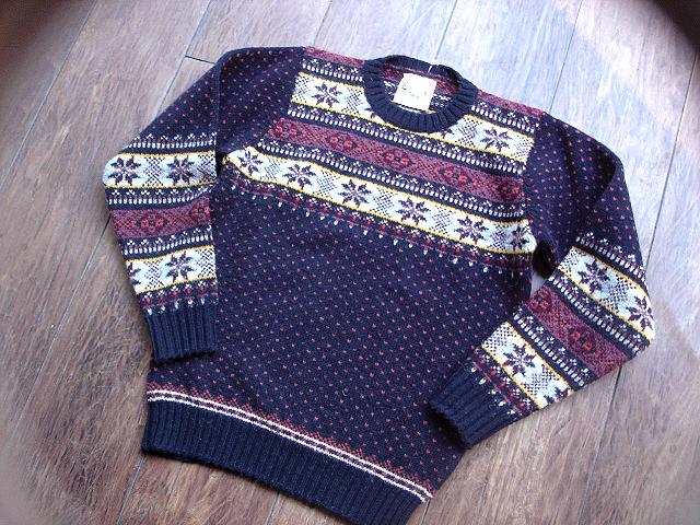 NEW : Jamieson\'s [Crew Neck Pullover] & [V Neck Vest] !!_a0132147_0143196.jpg