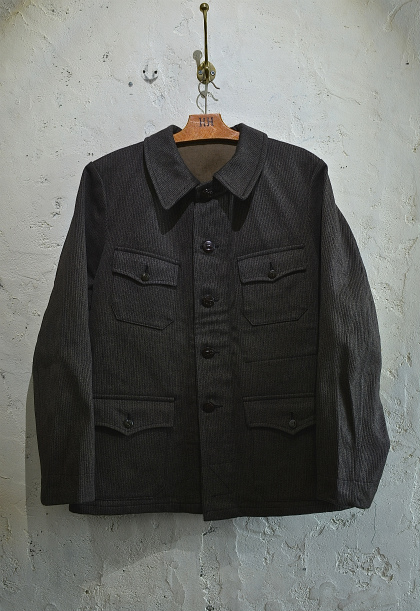 French hunting jacket with animal buttons_f0226051_16123334.jpg