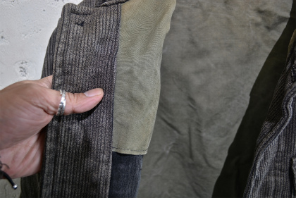 French hunting jacket with animal buttons_f0226051_1628474.jpg