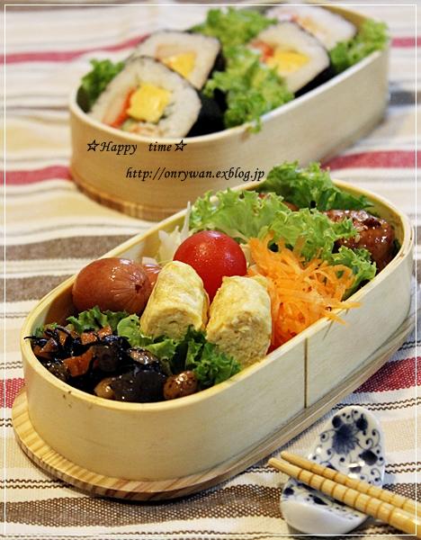 太巻き&肉団子弁当と肉まん♪_f0348032_19074081.jpg