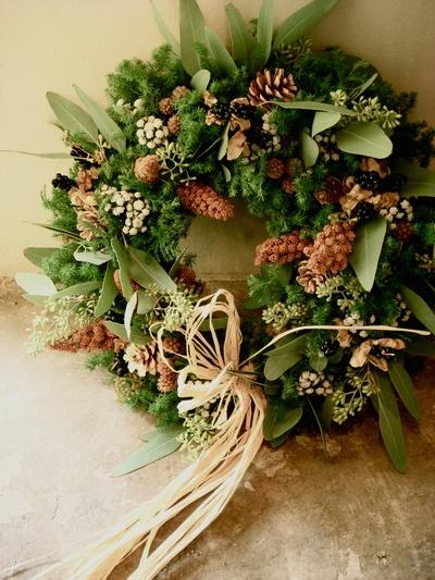 早いですね、wreathです!_a0229658_8565276.jpg