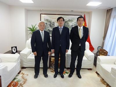 中華人民共和国新潟総領事表敬訪問_f0019487_7514797.jpg