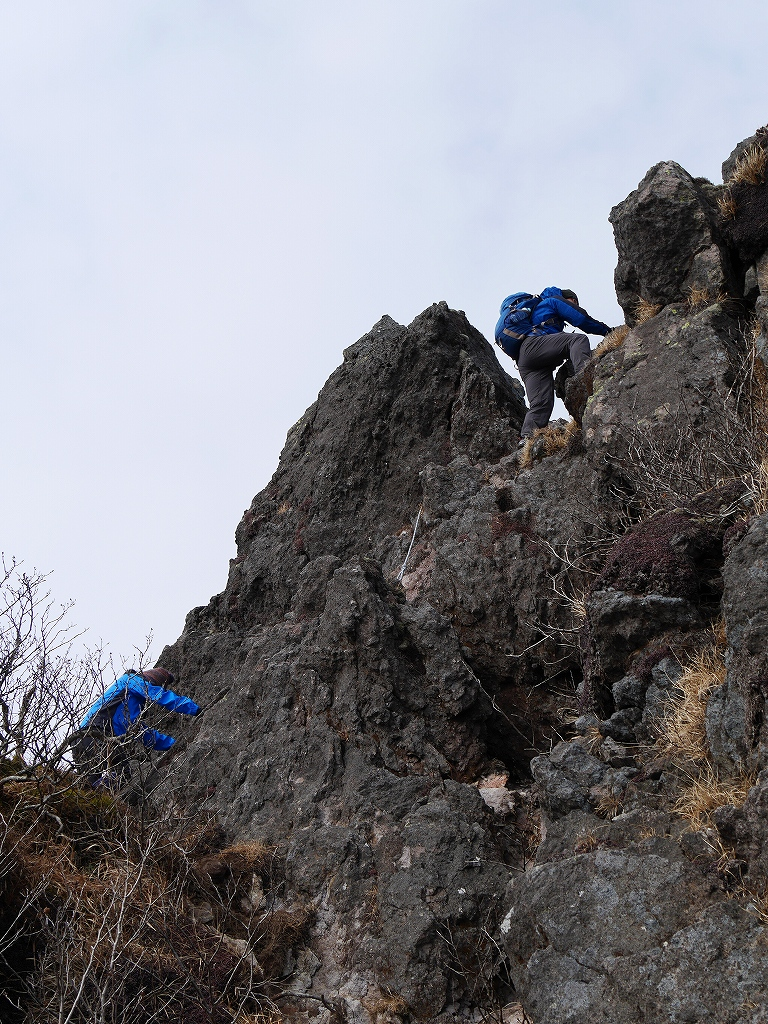 恵庭岳、11月1日-速報版-_f0138096_1461649.jpg