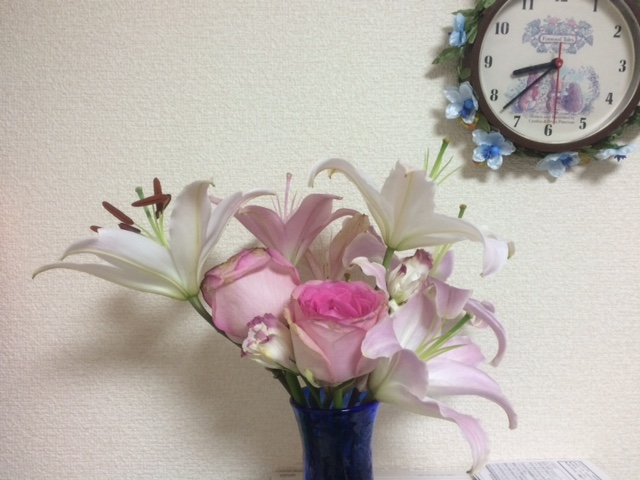 咲いた~咲いた~_e0114246_1150735.jpg