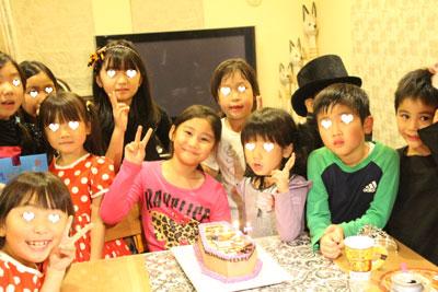 ミッキーの棺ケーキバースデーケーキとハロウィンパーリー!_f0149855_2314149.jpg