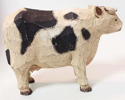 フランスブロカント 牛手彫り木製置き物入荷しました。_b0270459_22192643.jpg