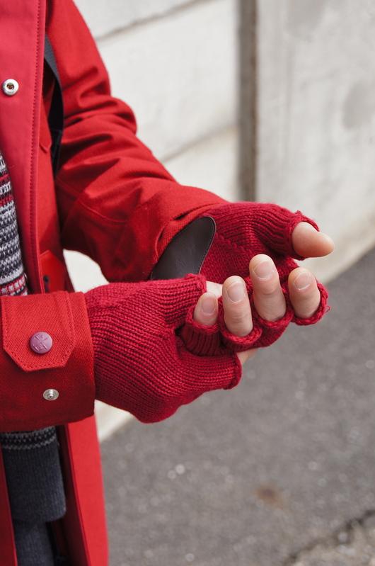 White Mountaineering - Red Coat Look!!_f0020773_20104167.jpg