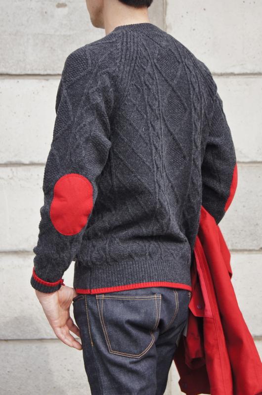 White Mountaineering - Red Coat Look!!_f0020773_2011205.jpg