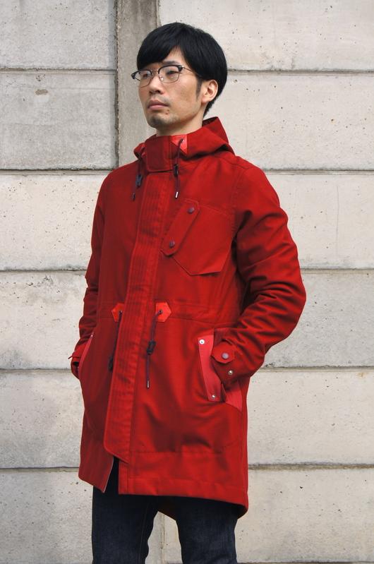 White Mountaineering - Red Coat Look!!_f0020773_2017480.jpg