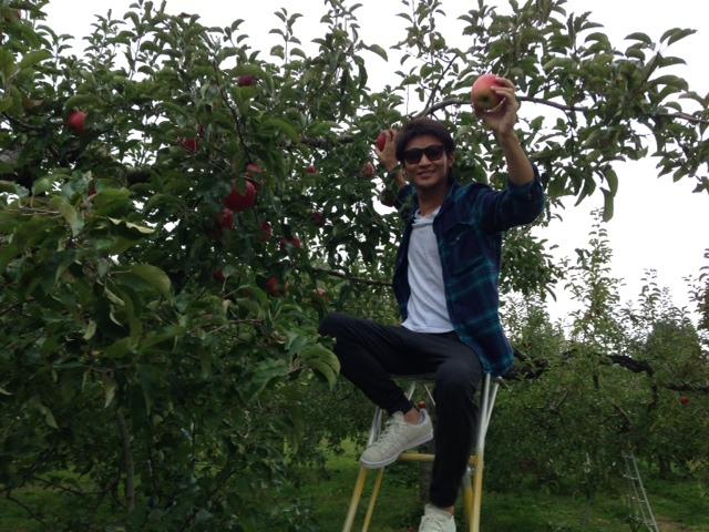 11月1日 来ましたぜ、りんご狩り!_d0171384_17234493.jpg