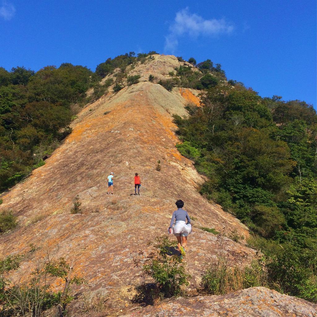 小野アルプス、和気アルプスScrambling & Mountain Running 2014/10/23_b0220886_10334717.jpg