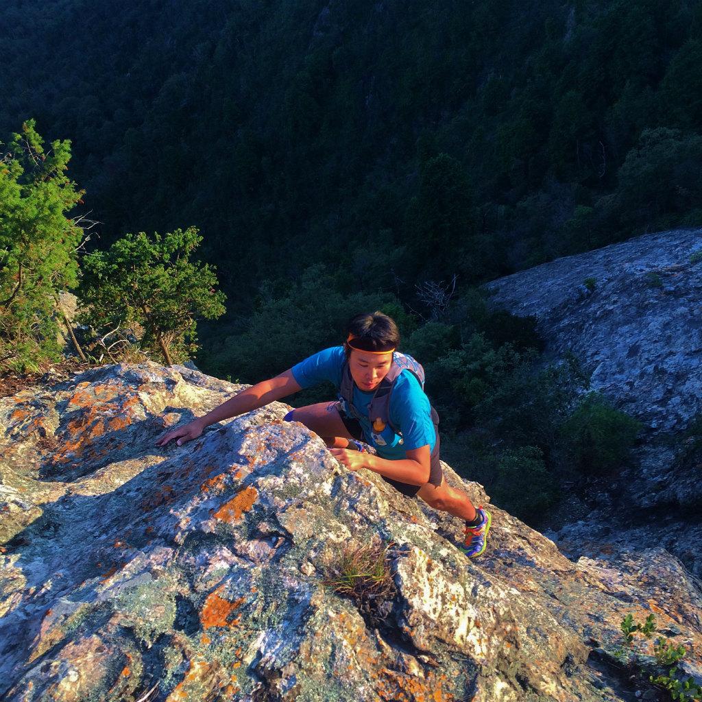 小野アルプス、和気アルプスScrambling & Mountain Running 2014/10/23_b0220886_10373258.jpg