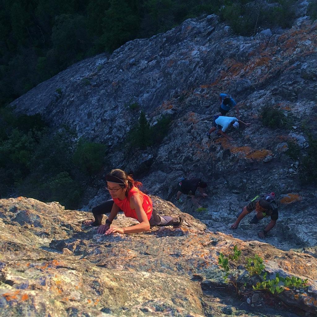 小野アルプス、和気アルプスScrambling & Mountain Running 2014/10/23_b0220886_10374155.jpg