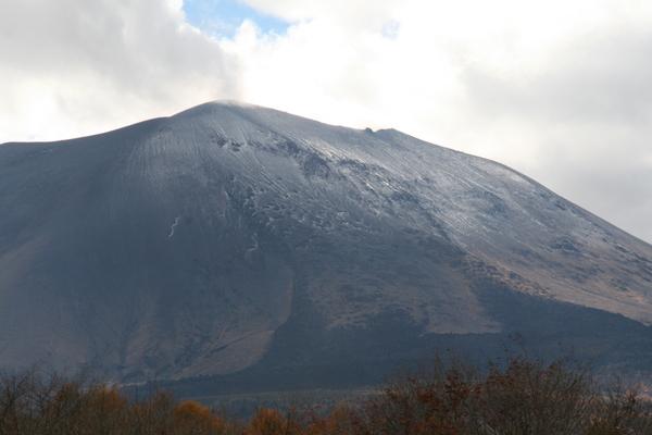 浅間山、二度目の冠雪_b0174425_20133141.jpg
