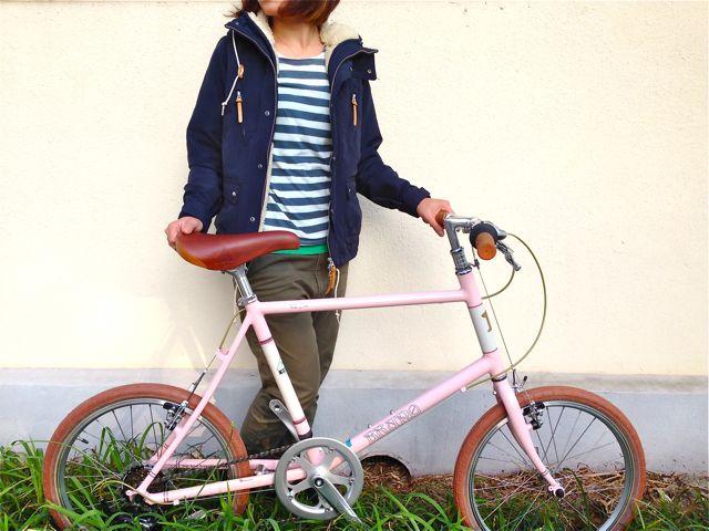 BRUNO 2015「Minivelo 20 Flat」ブルーノ ミニベロ おしゃれ 自転車 女子_b0212032_20251342.jpg