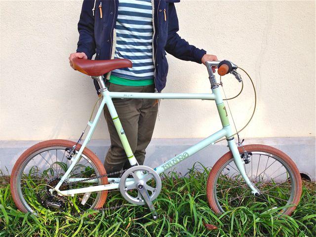 BRUNO 2015「Minivelo 20 Flat」ブルーノ ミニベロ おしゃれ 自転車 女子_b0212032_20251992.jpg