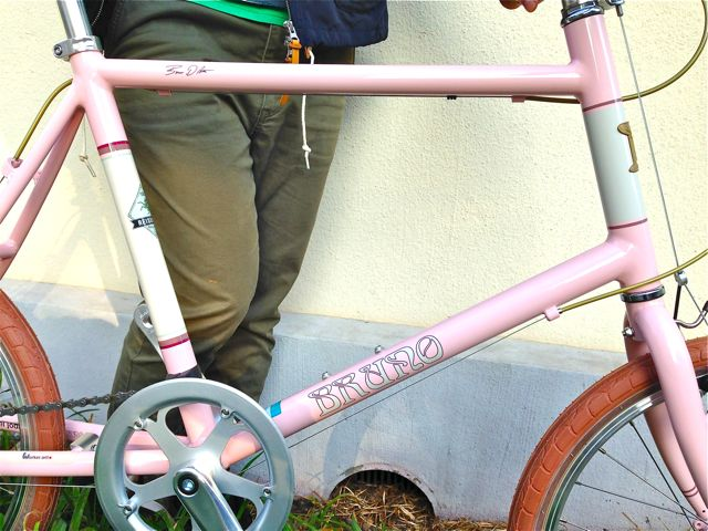 BRUNO 2015「Minivelo 20 Flat」ブルーノ ミニベロ おしゃれ 自転車 女子_b0212032_20252917.jpg
