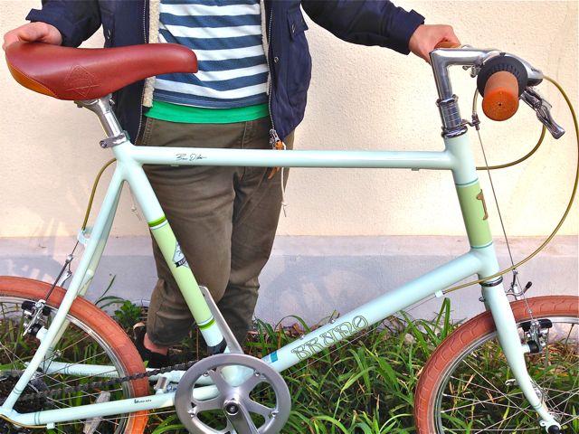 BRUNO 2015「Minivelo 20 Flat」ブルーノ ミニベロ おしゃれ 自転車 女子_b0212032_20294770.jpg