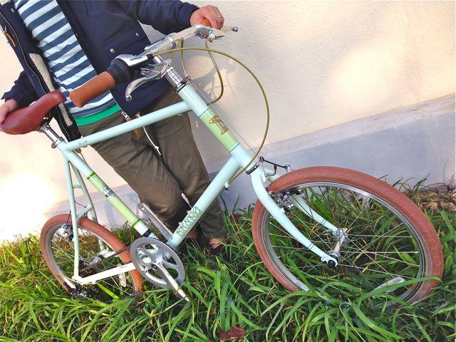 BRUNO 2015「Minivelo 20 Flat」ブルーノ ミニベロ おしゃれ 自転車 女子_b0212032_20304480.jpg