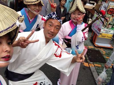 竹ノ塚かりん祭り_c0158871_926416.jpg