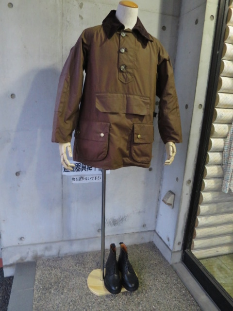 Barbour ・・・ LONG SHOREMAN JACKET!★! 稀少モデル!?_d0152280_12555955.jpg
