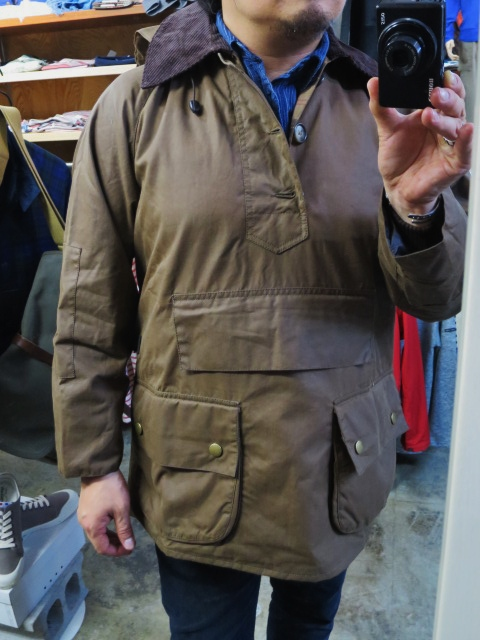 Barbour ・・・ LONG SHOREMAN JACKET!★! 稀少モデル!?_d0152280_12573654.jpg