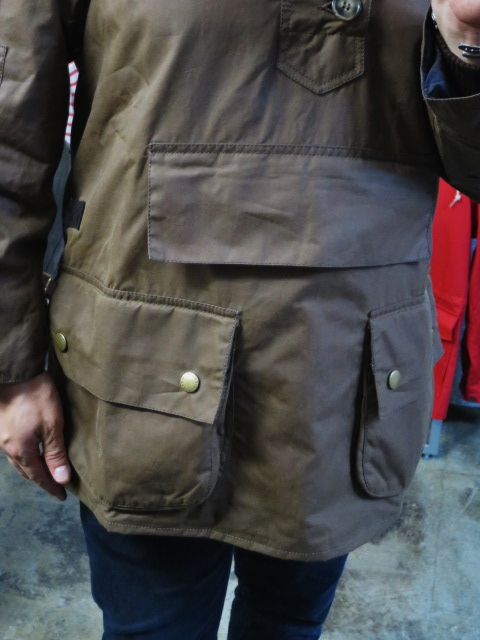 Barbour ・・・ LONG SHOREMAN JACKET!★! 稀少モデル!?_d0152280_12574157.jpg